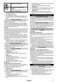 Karcher SC 3 EasyFix - manuals - Page 7