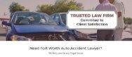 Auto Accident Lawyers Fort Worth TX