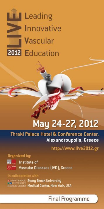 Analytical Scientific Programme - LIVE 2012 - Leading Innovative ...