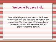 Hire Java Developers - Java India