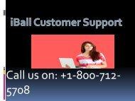 iball customer support