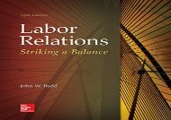 [+]The best book of the month Labor Relations: Striking a Balance  [FREE]
