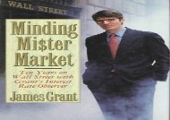 [+]The best book of the month Minding Mister Market [PDF]