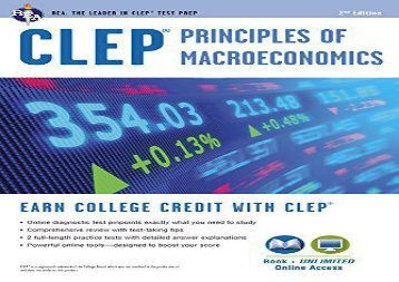 [+]The best book of the month CLEP(R) Principles of Macroeconomics Book + Online  [DOWNLOAD]