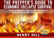 [+]The best book of the month The Prepper s Guide To Economic Collapse Survival: How To Survive The Death Of Money And The Loss Of Paper Assets  [FREE]