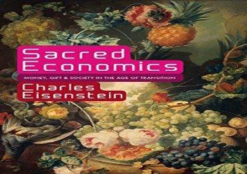 Sacred Economics Pdf