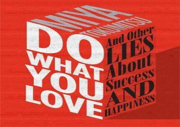 [+]The best book of the month Do What You Love: And Other Lies about Success   Happiness  [FREE]