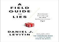 [+]The best book of the month A Field Guide to Lies: Critical Thinking in the Information Age  [NEWS]