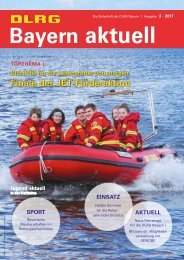 DLRG Bayern aktuell   03 - 2017