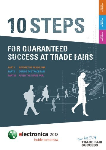 electronica 2018 // 10 steps for guaranteed success at trade fairs