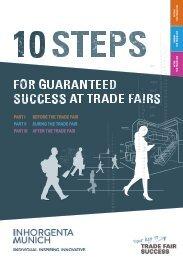 INHORGENTA MUNICH 2019 // 10 steps for guaranteed success at trade fairs