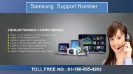 Samsung  Support Number For Australia