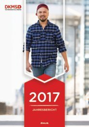 DKMS Jahresbericht 2017