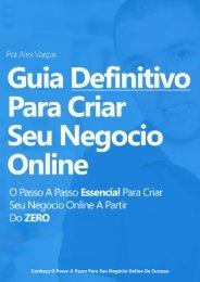 eBook - Guia Definitivo para Criar Seu Negócio Online de Sucesso (GARANTIDO)