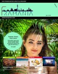 Framania Magazin Ausgabe Juli 2018