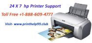 HP Printer Support Phone Number  +1-888-609-4777