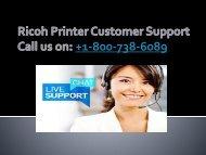 ricoh printer customer support pdf
