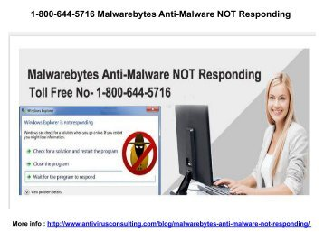 1-800-644-5716  Support for malwarebytes Help Line Number