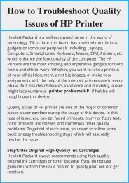 Fix HP Deskjet GT 5820 Printer Problems