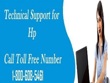 How To Search HP Support Number? 1-800-608-5461 Toll-Free