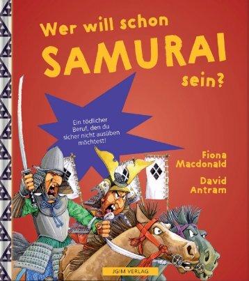 JGIM Verlag . Wer will schon SAMURAI sein?