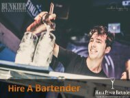 Hire A Bartender To Make Your Event Special