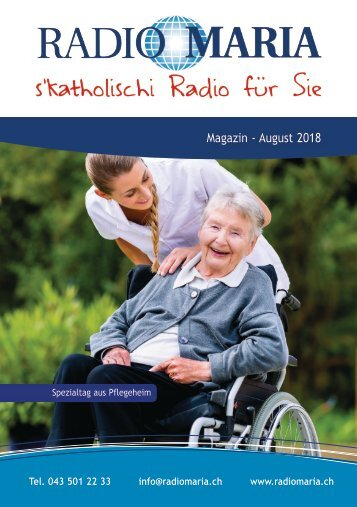 Radio Maria Magazin - August 2018