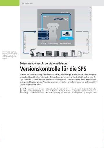 SPS Magazin - Versionskontrolle fuer SPS