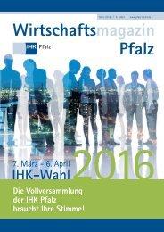 2016-03 IHK Pfalz Wirtschaftsmagazin