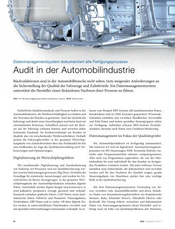 2017-06 A&D - Audits Automotive