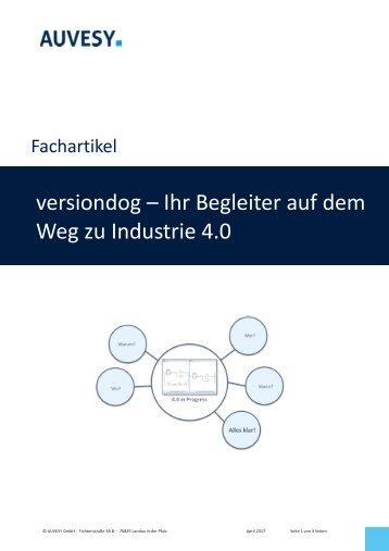 2017-04 versiondog – Ihr Begleiter auf dem Weg zu Industrie 4.0