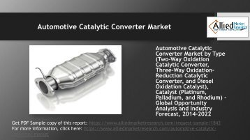 What future holds for Automotive Catalytic Converter Market?