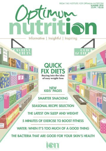 Optimum Nutrition Summer 2018 PREVIEW