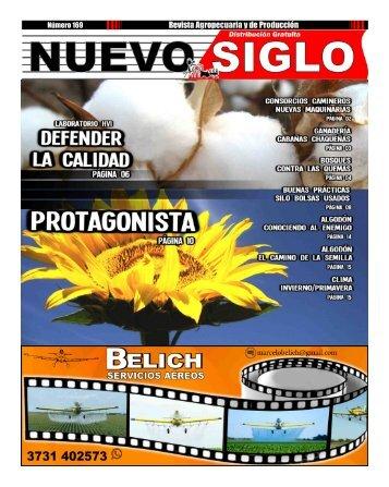 Revista Agropecuaria Nuevo Siglo Número 169 - JULIO 2018