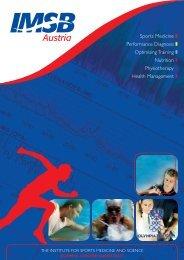 Sports Medicine Performance Diagnosis Optimising Training ... - IMSB