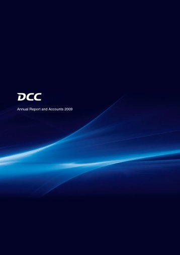 Annual Report and Accounts 2009 - Dcc