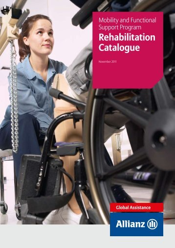 Rehabilitation Catalogue - Allianz Global Assistance Mobility and ...