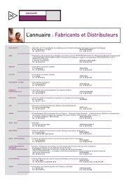 L'annuaire : Fabricants et Distributeurs - Salon Rééduca