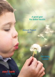 Annual Report 2011 For every breath A good year For ... - Medibank