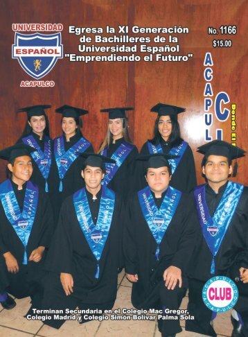 Revista Acapulco Club 1166