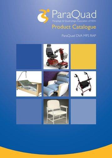 Paraquad Product Brochure web - DVA Website Information
