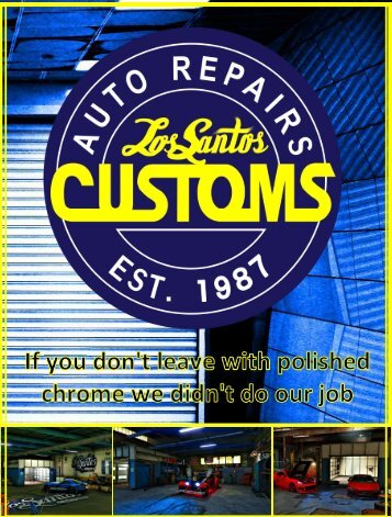 Advert - Los Santos Customs