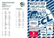 match flyer fc luzern frauen – sc derendingen so – 26.08.2012