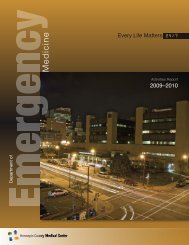 Em. Med. Annual Report 2011 - Hennepin County Medical Center