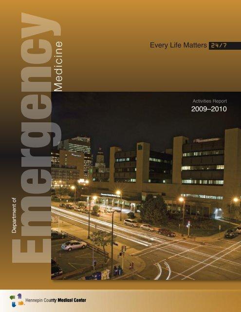Em. Med. Annual Report 2011 - Hennepin County Medical Center