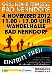 4. november 2012 11.00 - NABU-Samtgemeinde Nenndorf