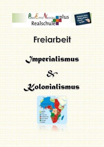 Freiarbeit Imperialismus