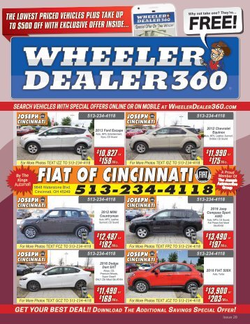 Wheeler Dealer 360 Issue 28, 2018