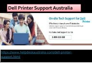 1-800-383-368 Network & Wi-fi Issue Resolve Dell Printer Support Australia