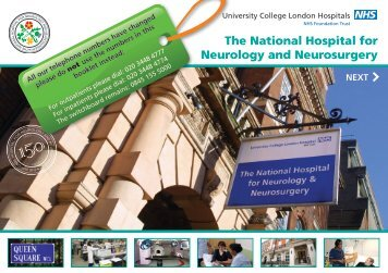 The National Hospital for Neurology and Neurosurgery - University ...